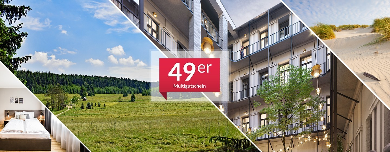 1-Nacht Multigutschein + 50 € on top
