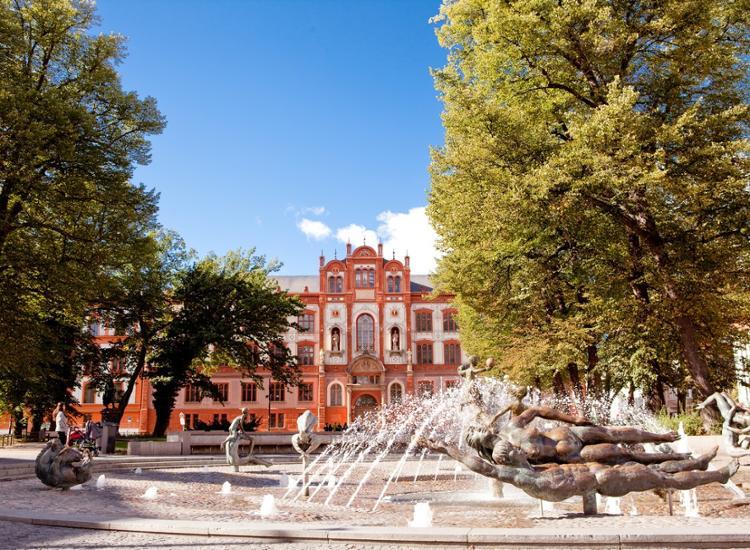 Rostock Brunnen der Lebensfreude