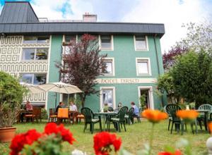 Hotel Hirsch Fassade