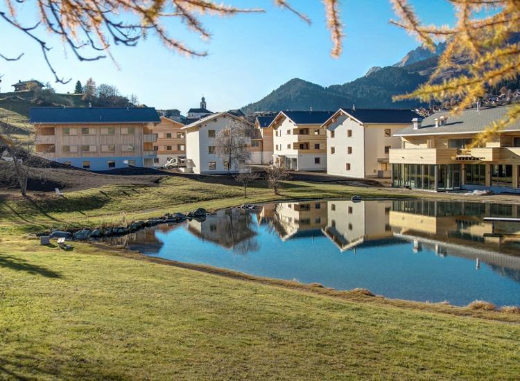 Pradas Resort Brigels Aussenansicht