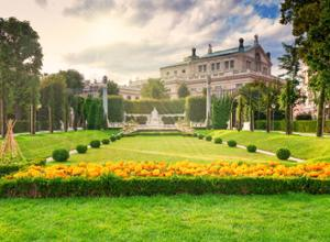 Wien Volksgarten Park