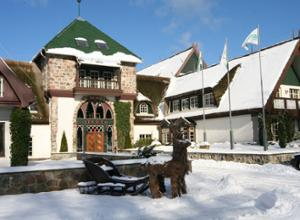 Forsthaus Damerow Winter