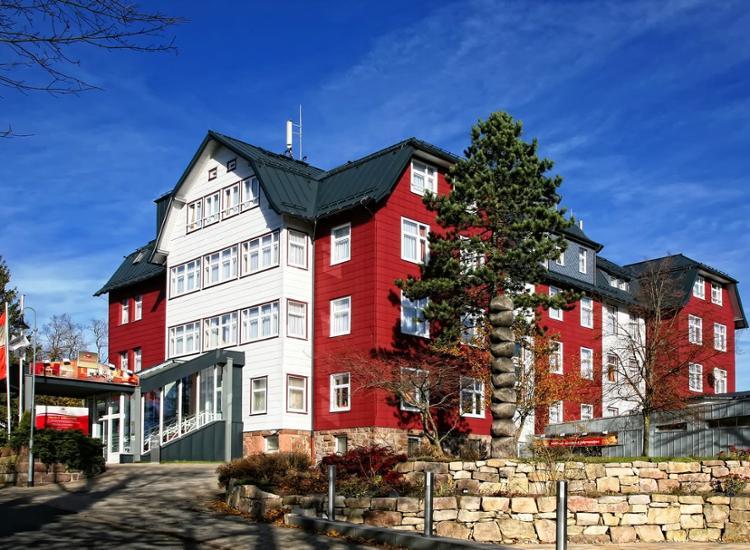Berghotel Oberhof Aussenansicht