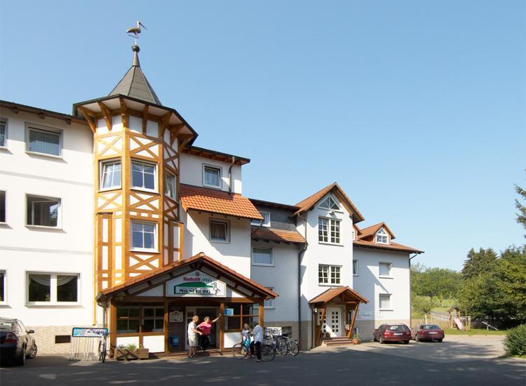 Hotel Milseburg Aussenansicht