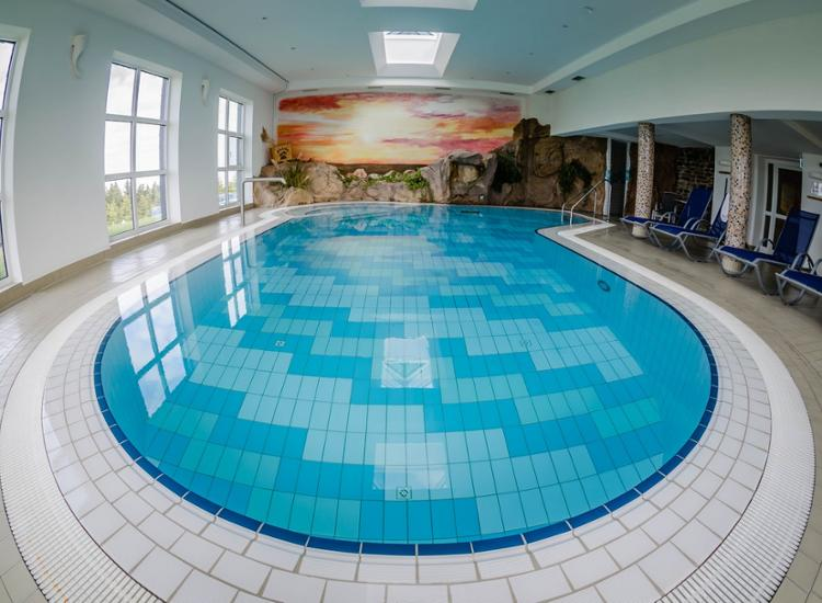 Hotel Sachsenbaude Pool