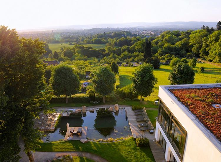Schlosshotel Bad Wilhelmshoehe Kassel Aussenbereich