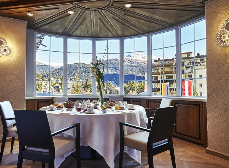 Steigenberger Grandhotel Belvedere Davos Restaurant