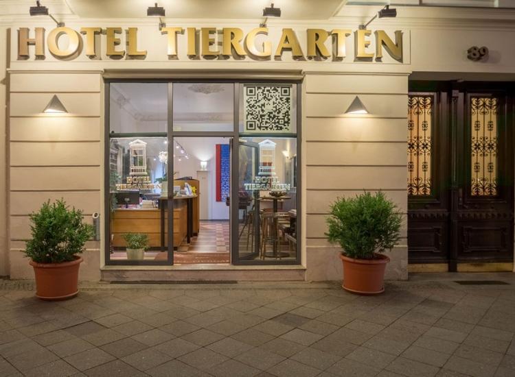 Hotel Tiergarten Berlin Eingang