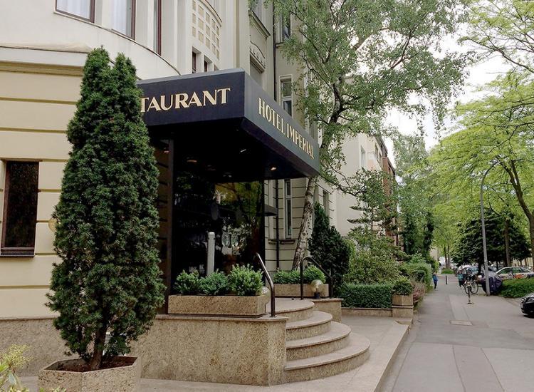 Hotel Imperial Koeln Aussenansicht