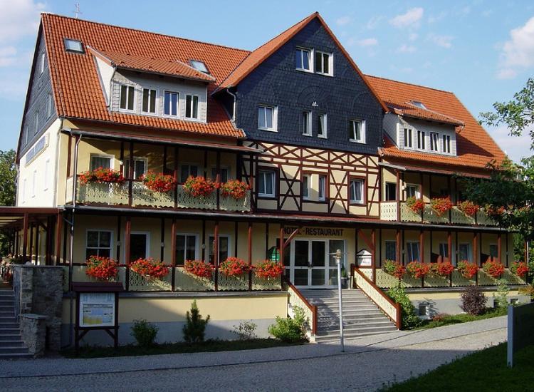 Kurhotel Bad Suderode Aussenansicht