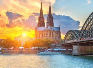 Kölner Dom und Hohenzollern Brücke