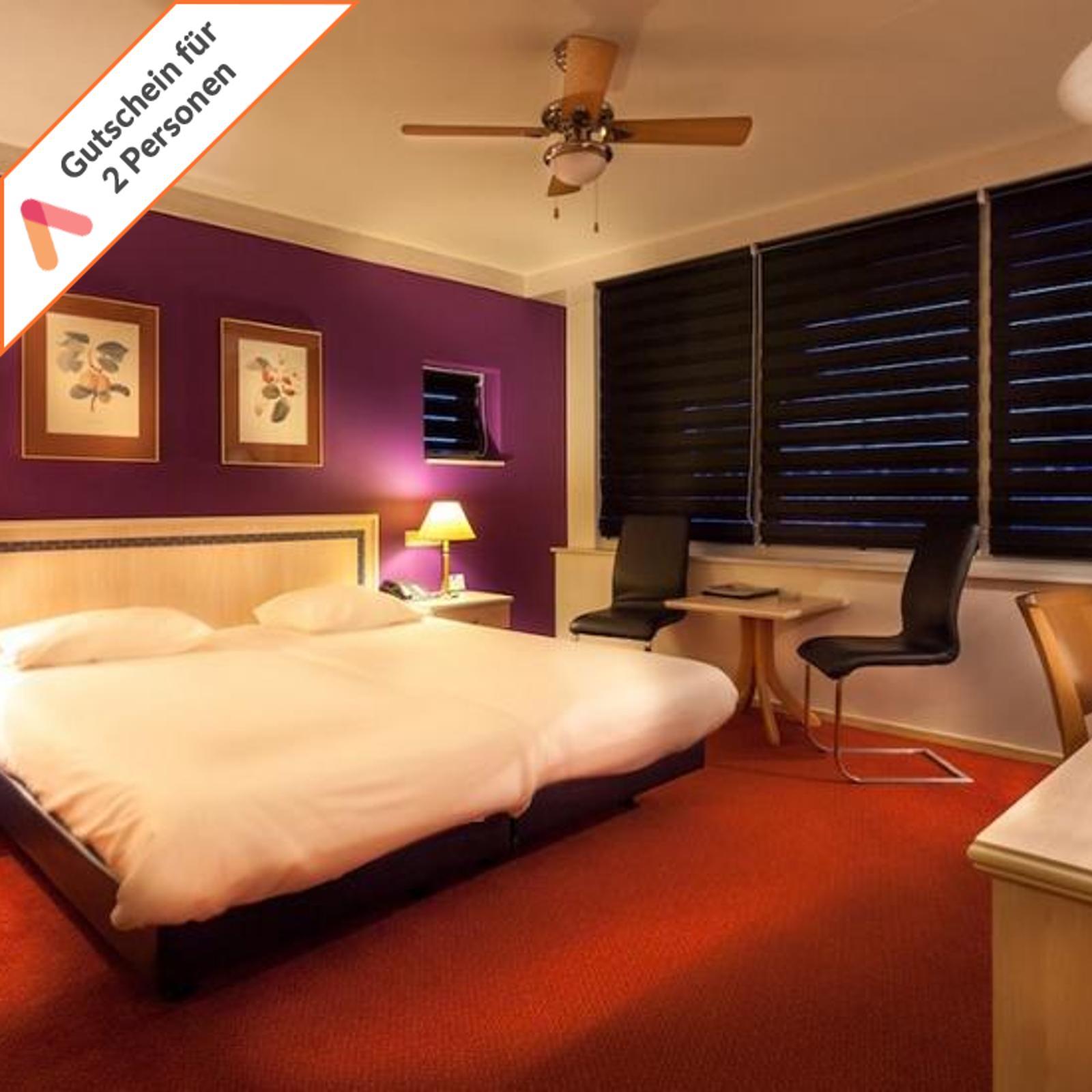 Kurzreise Holland Groningen Stadskanaal 3 Tage im 4 Sterne Hotel für 2 Personen