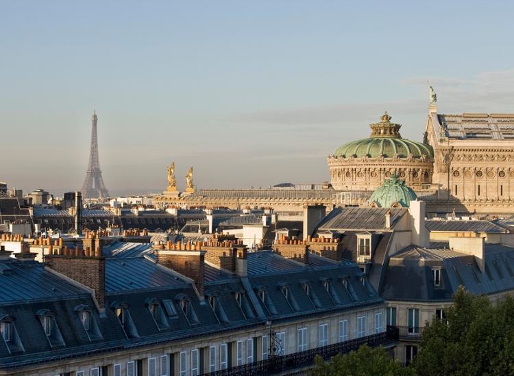 Paris Marriott Opera Ambassador Hotel Ausblick