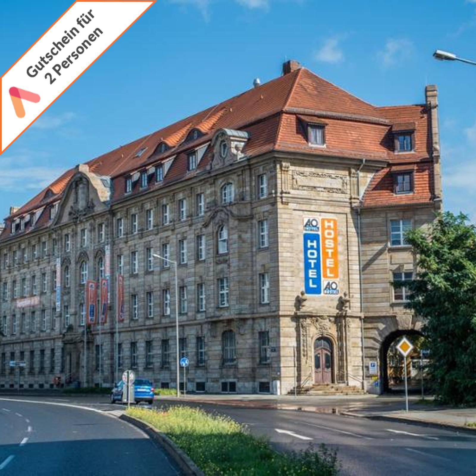 Kurzreise-Leipzig-nahe-Hauptbahnhof-2-bis-4-Tage-2-Personen-A-amp-O-Hotel-Gutschein