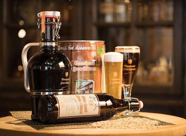 Brauhaus Zum Loewen Hauseigene Biere