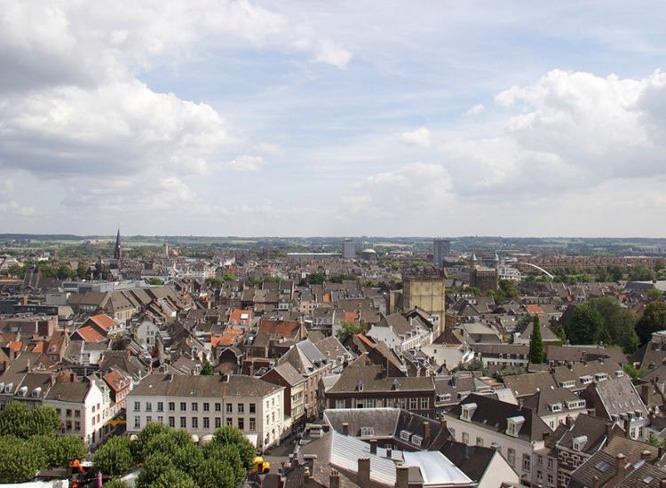 Maastricht von oben