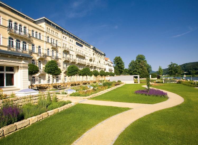 Hotel Elbresidenz an der Therme Aussenansicht