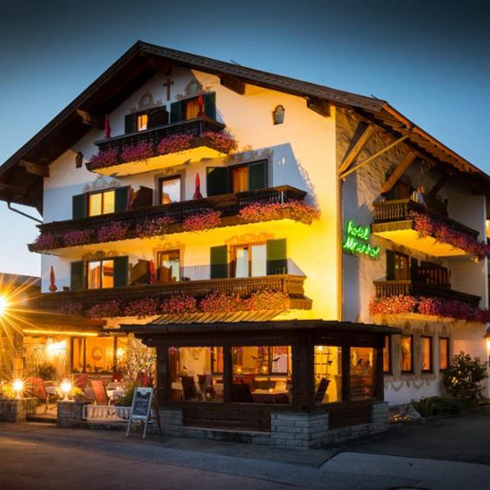 Karwendel Alpenhof Wallgau Alpes Vacances Pour 2 Personnes Hôtel Bon 4 Jours-afficher Le Titre D'origine BéNéFique Au Sperme