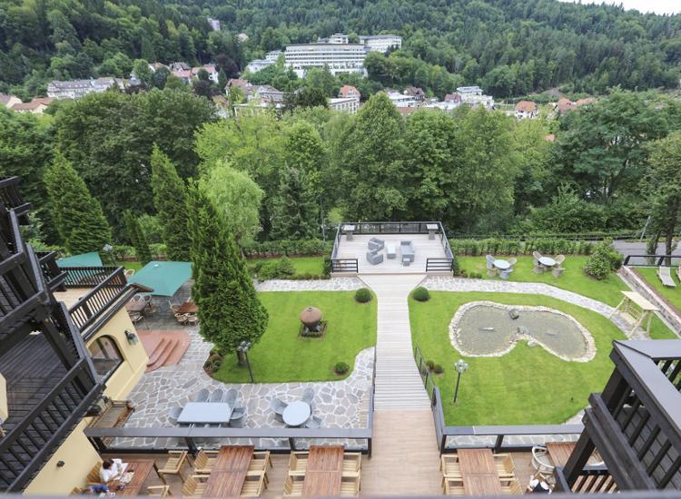 Parkhotel Luise Panoramaausblick