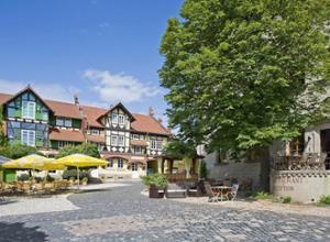 Hotel Resort Schloss Auerstedt Aussenansicht