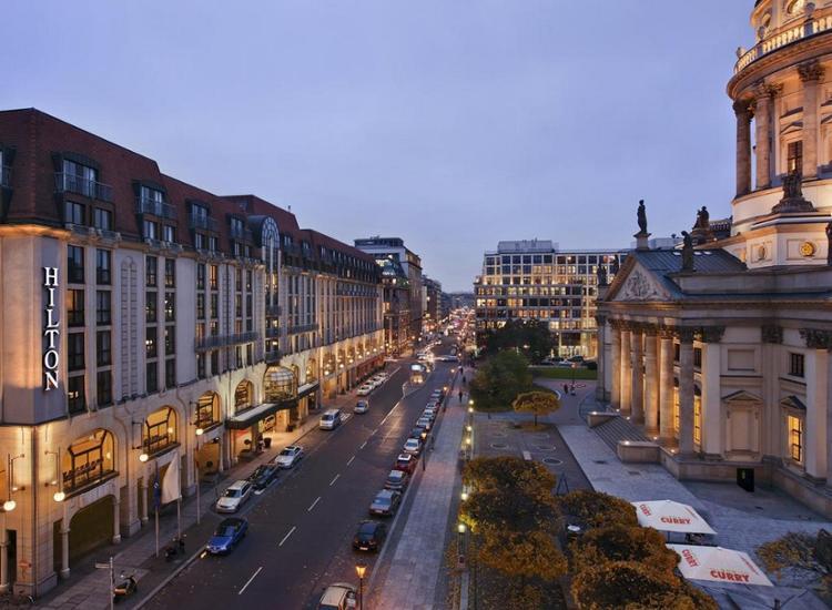 Hilton Berlin Aussenansicht