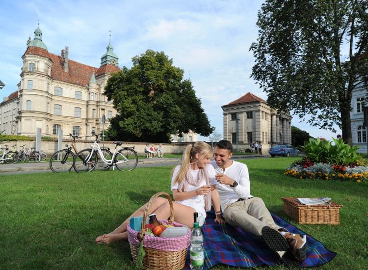 Hotel am Schlosspark Romantisches Picknick