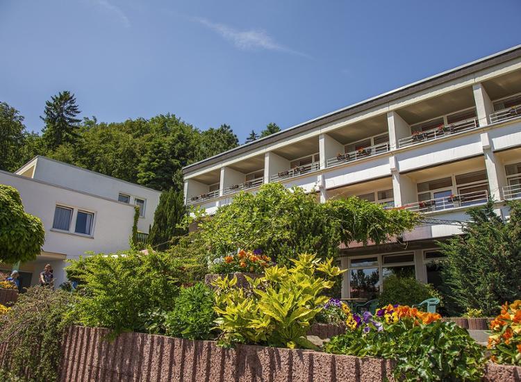 Ferienstaette Dorfweil im Taunus Balkon