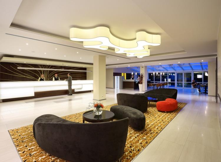 Hotel Duo Prag Lobby