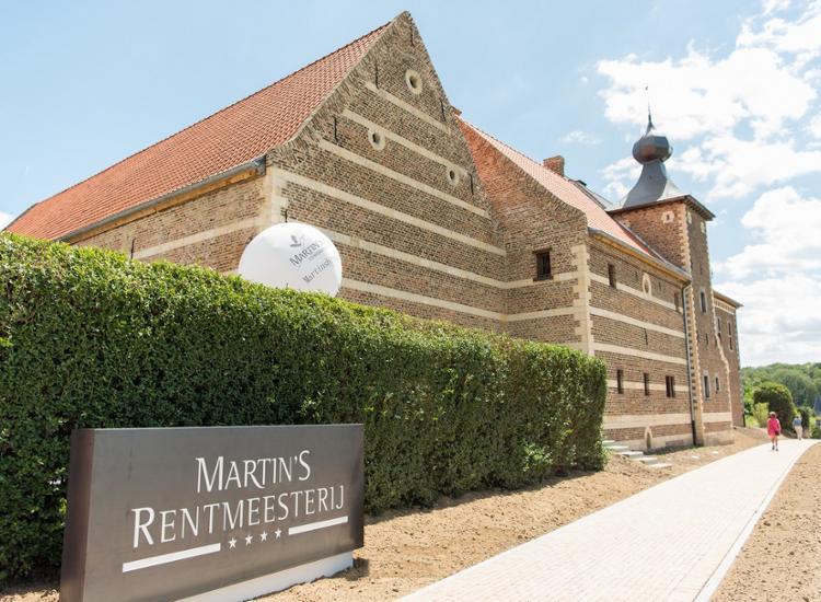 Martins Rentmeesterij Bilzen Historisches Haus