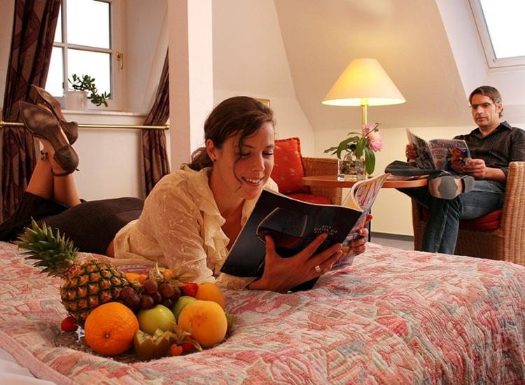 Kurzreise Rügen 4 Tage für 2 Personen im 4 Sterne Wellness Hotel Gutschein Menü 7