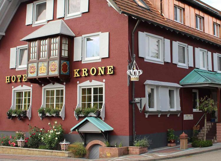 Parkhotel Krone Maleck Aussenansicht