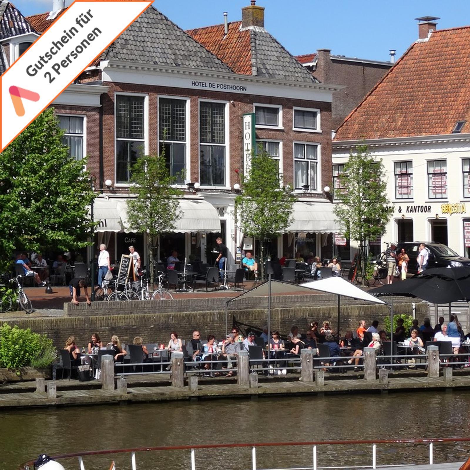 3 oder 4 Tage Friesland Dokkum nahe Nordsee Kurzreise Hotel Gutschein 2 Personen