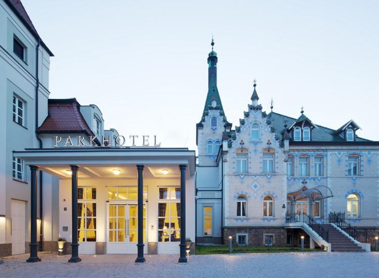 Dorint Parkhotel Meissen Eingang