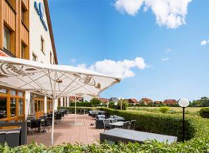 Best Western Hotel Erfurt Apfelstaedt Terrasse