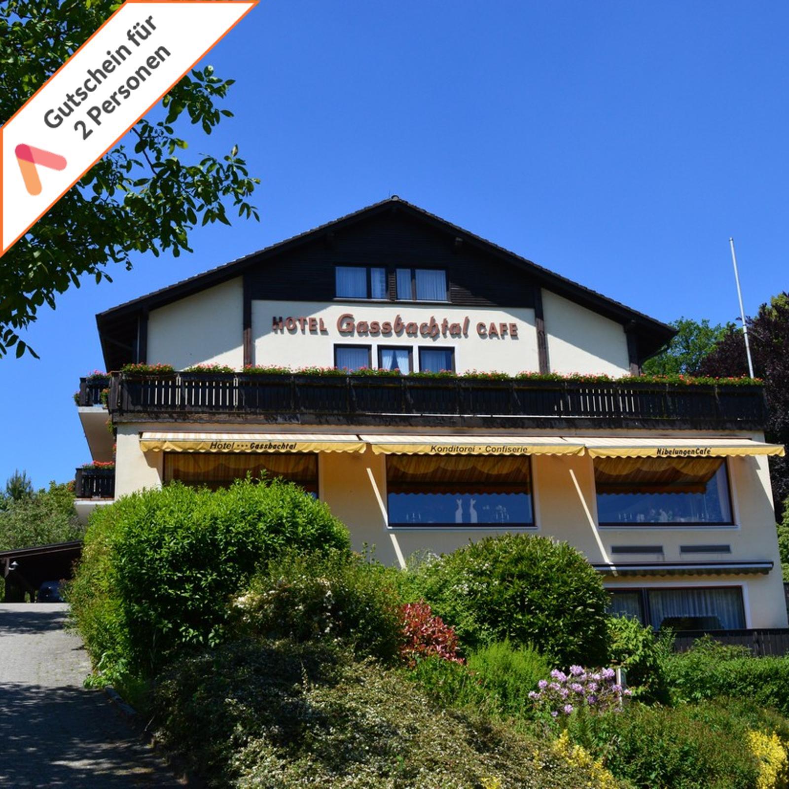 Kurzurlaub Odenwald 3 Tage 2 Personen Hotel Gassbachtal am Waldrand Gutschein