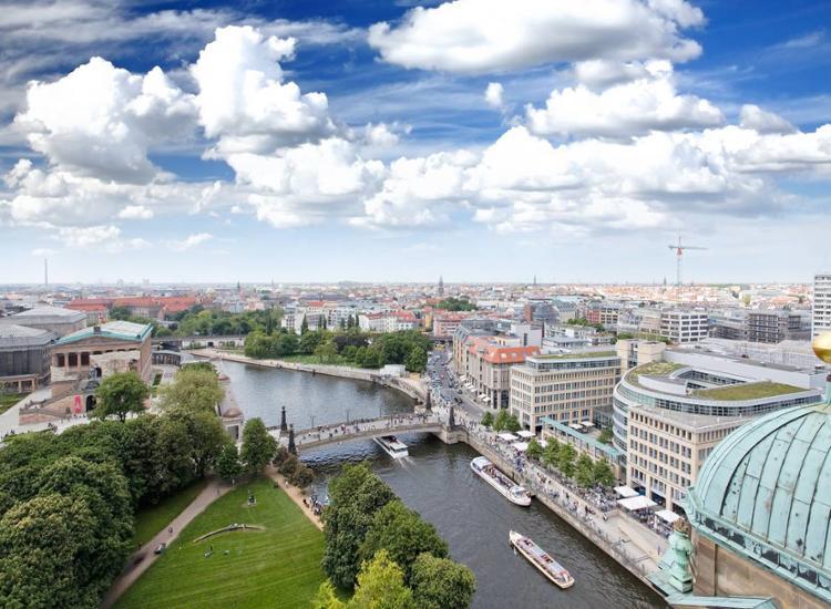 Berlin Ansicht von Oben