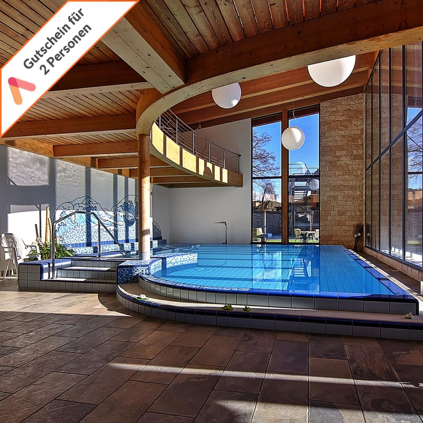 Wellness Kurzreise Südtirol Trentino für 2 Personen Pool Hotel Gutschein 6 Tage