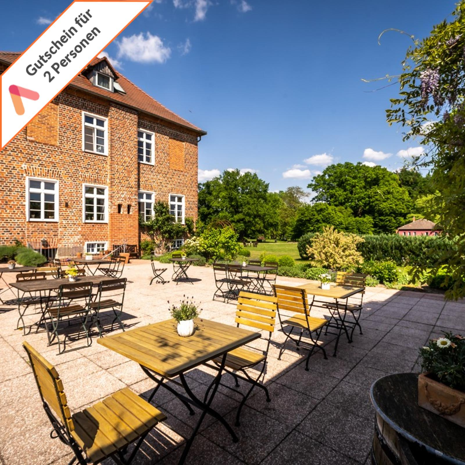 Kurzreise Müritz See Romantik im Gutshaus Hotel 4 Tage für 2 Personen Gutschein