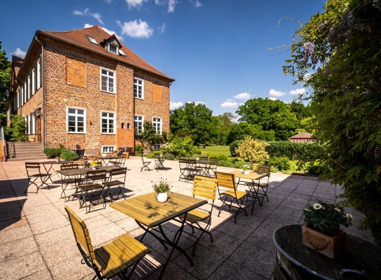 Romantik Hotel Gutshaus Ludorf Terrasse