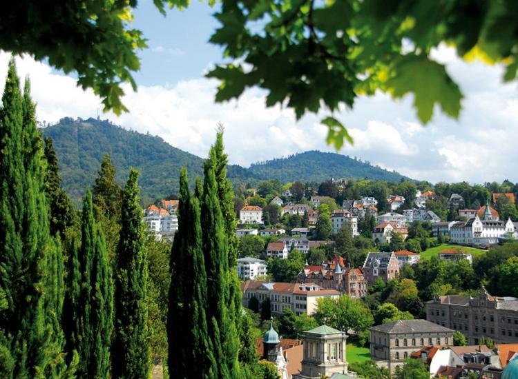 Stadtansicht Baden Baden