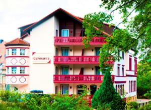 Wellnesshotel Germania Fassade