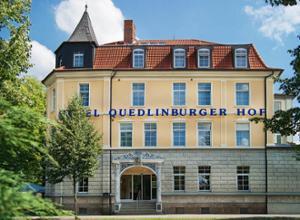Regiohotel Quedlinburger Hof Fassade