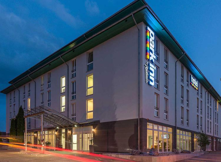 Park Inn by Radisson Goettingen Aussenansicht