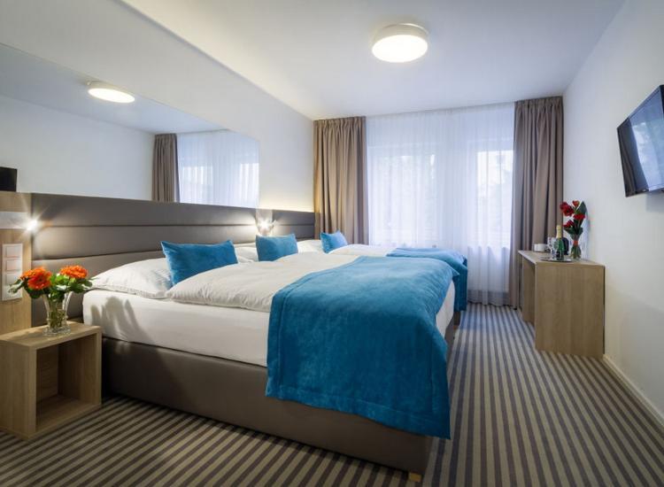 Hotel White Lion Prag Zimmer