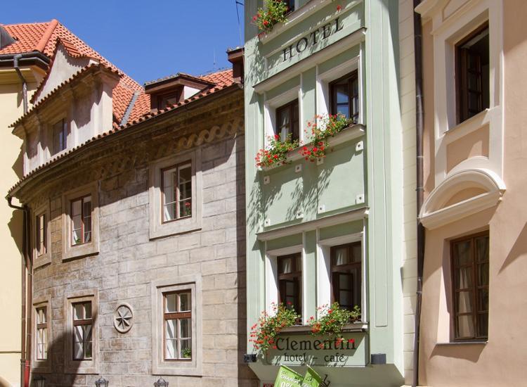 Hotel Clementin Old Town Prag Aussenansicht