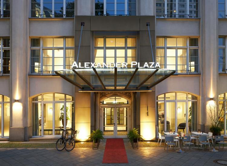 Classik Hotel Alexander Plaza Eingang