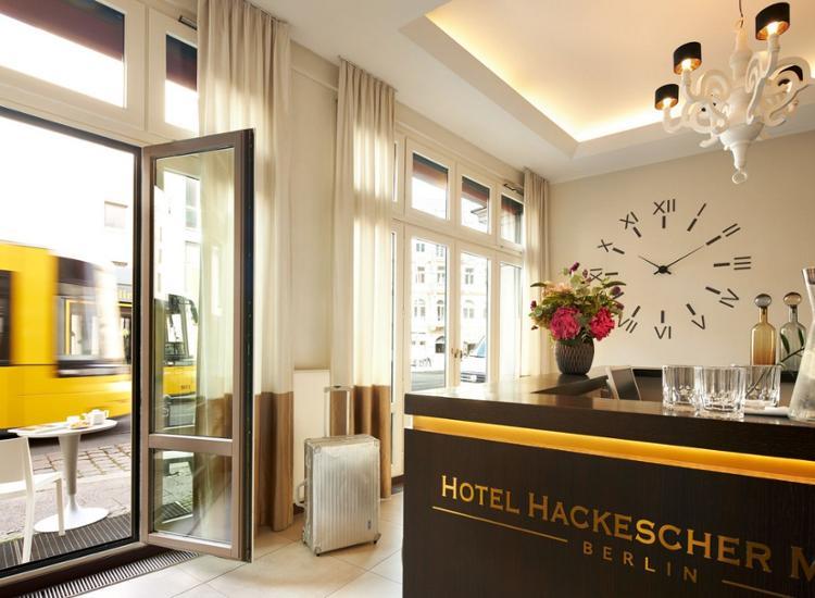 Classik Hotel Hackescher Markt Berlin Eingangsbereich