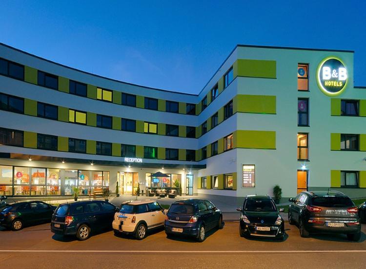 BB Hotel Schweinfurt City Hotelansicht