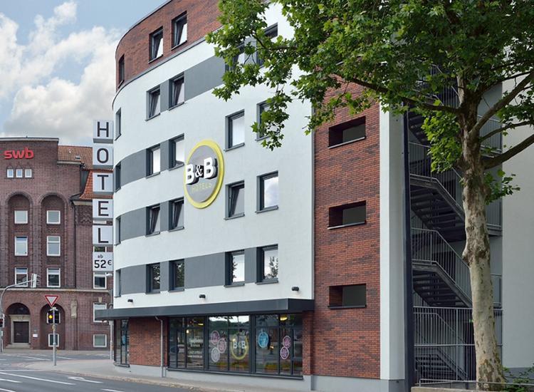 BB Hotel Bremen Hbf Hotel von Aussen