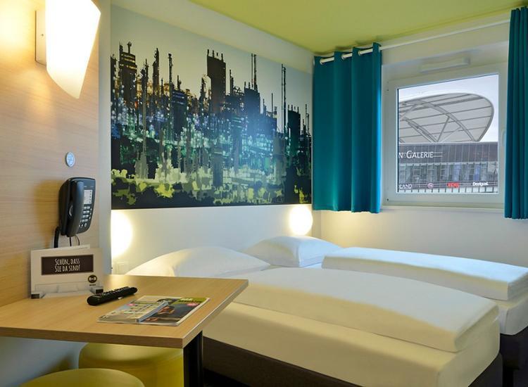 BB Hotel Ludwigshafen Doppelzimmer